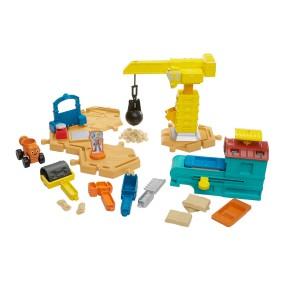 Fisher-Price Bob Budowniczy - Plac budowy + kinetyczny piasek DMM55