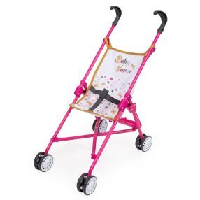 Smoby Baby Nurse - Wózek spacerówka składana 220401