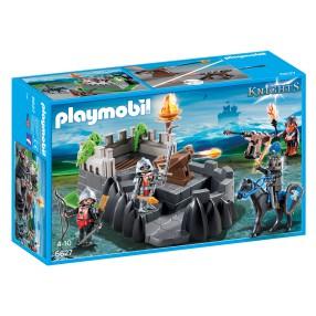 Playmobil - Twierdza rycerska herbu Smok 6627