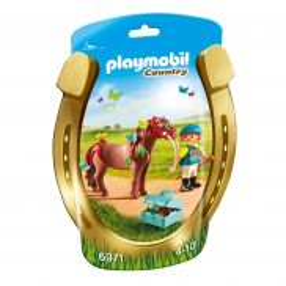 """Playmobil - Kucyk z ozdobą """"Motylek"""" 6971"""