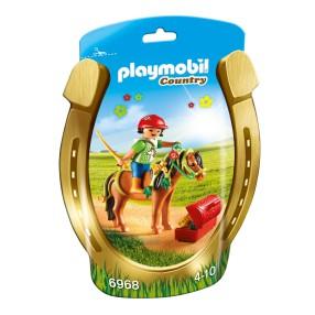 """Playmobil - Kucyk z ozdobą """"Kwiatuszek"""" 6968"""