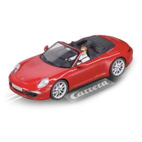 Carrera EVOLUTION - Porsche 911 Carrera S Cabriolet (czerwony) 27534