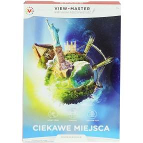 Mattel - View Master Rozszerzenie Ciekawe miejsca DLL69