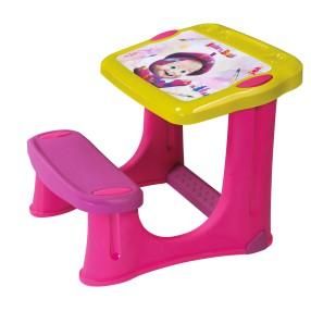 Smoby - Stolik z ławeczką Masza i Niedźwiedź 420200