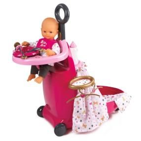 Smoby Baby Nurse - Wielofunkcyjna walizka Centrum opieki 3w1 220316