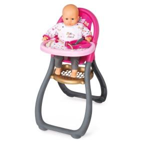 Smoby Baby Nurse - Krzesełko dla lalki do karmienia 220310