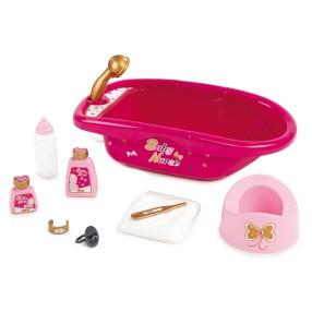 Smoby Baby Nurse - Duży zestaw do kąpieli z akcesoriami 220302