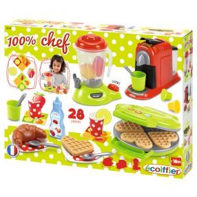 Ecoiffier - Śniadaniowy zestaw akcesoriów kuchennych 2624
