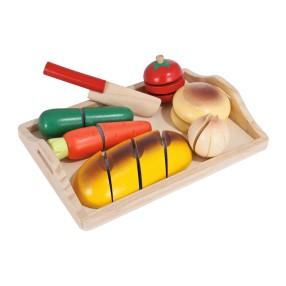 Eichhorn - Deska do krojenia z pieczywem i warzywami 3731