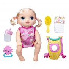 Baby Alive - Lalka Raczkujący Maluszek Mówi Po Polsku B6048