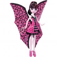Monster High - Draculaura Wampiskrzydła 2w1 DNX65