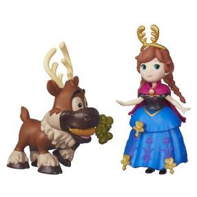 Hasbro Disney Princess - Mini laleczki Kraina Lodu Anna i Swen B5187