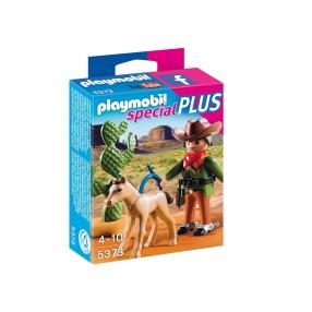 Playmobil - Kowboj ze źrebięciem 5373