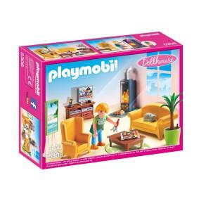 Playmobil - Salon z kominkiem 5308