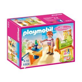 Playmobil - Pokój dla niemowlaka z łóżeczkiem 5304