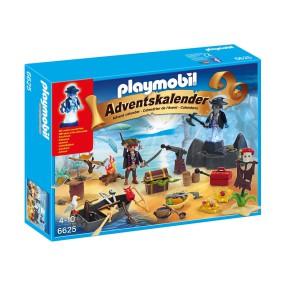 Playmobil - Kalendarz adwentowy - Tajemicza piracka wyspa skarbów 6625