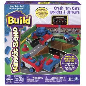 Kinetic Sand Build - Samochody-Zderzaki 340g 20071339