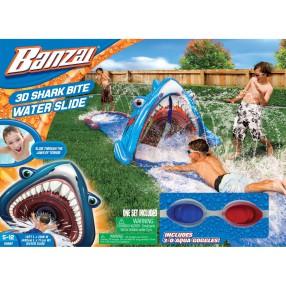 Banzai - Ślizgawka wodna z rekinem 3D + okulary 69987