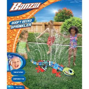 Banzai - Zraszacz wody - Goofy Gecko 96032
