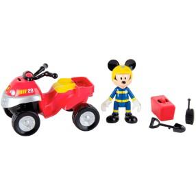 IMC Toys - Na ratunek Quad Straży Pożarnej Myszki Miki 181915