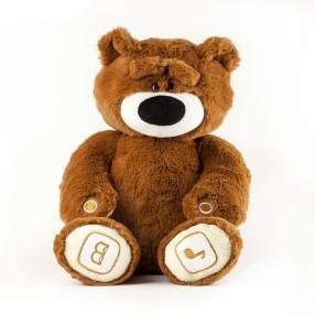 TM Toys - Interaktywny miś Teduś brązowy 20020 A