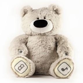 TM Toys - Interaktywny miś Teduś szary 20020 B