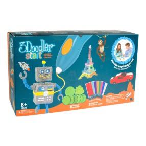 3Doodler - Mega Zestaw długopis szablony wkłady 00674