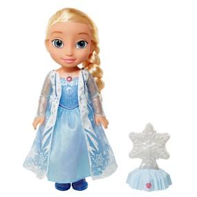 Disney Frozen Kraina Lodu - Lalka Elsa w balsku zorzy polarnej Dźwięk Światło 40974