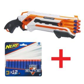 Hasbro Nerf N-Strike - Wyrzutnia Rough Cut Elite A1691+ strzałki A0350