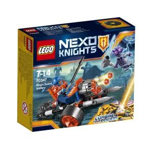 LEGO Nexo Knights - Artyleria Królewskiej Straży 70347
