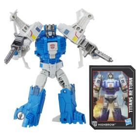 Hasbro Transformers Generations - Figurka Deluxe Xort i Highbrow B7033
