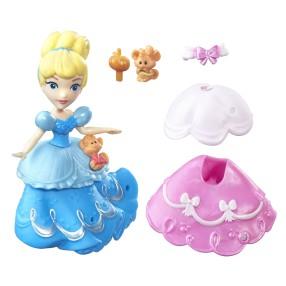 Hasbro Disney Princess - Mini laleczki z sukienką Kopciuszek B7158