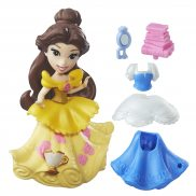 Hasbro Disney Princess - Mini laleczki z sukienką Bella B7157