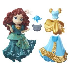 Hasbro Disney Princess - Mini laleczki z sukienką Merida B7159