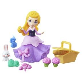 Hasbro Disney Princess - Mini laleczka Aurora na pikniku B7162