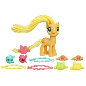 My Little Pony Explore Equestria - Stylowa grzywa Applejack B9617