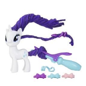 My Little Pony Explore Equestria - Stylowa grzywa Rarity B9619