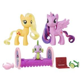 My Little Pony Explore Equestria - Zestaw przyjaciółek Księżniczka Twilight Sparkle i Applejack B9850