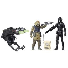 Hasbro Star Wars Rogue One - Figurki 10 cm Rebel Commando Pao i Death Trooper B7259