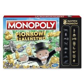 Hasbro - Gra Monopoly Pionkowe Szaleństwo C0087