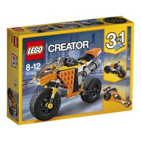 LEGO Creator - Motocykl z Bulwaru Zachodzącego Słońca 3w1 31059