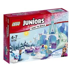 LEGO Juniors - Plac zabaw Anny i Elsy z Krainy Lodu 10736
