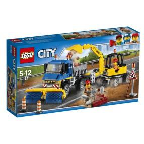 LEGO CITY - Zamiatacz ulic i koparka 60152