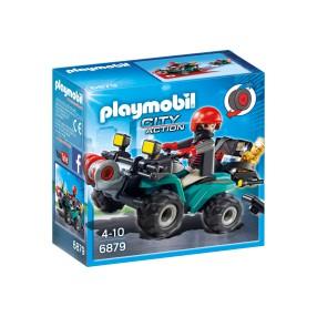 Playmobil - Przestępca z quadem 6879