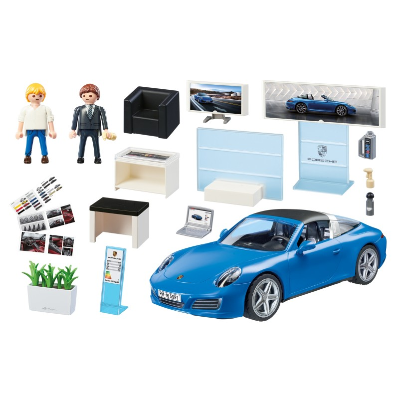 playmobil porsche 911 targa 4s 5991 kraina zabawy. Black Bedroom Furniture Sets. Home Design Ideas
