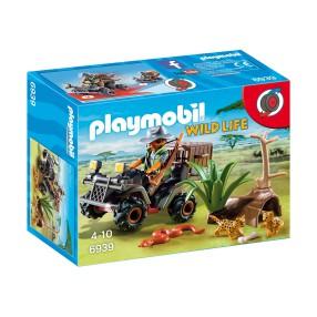 Playmobil - Kłusownik z quadem 6939