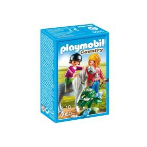 Playmobil - Spacer z kucykiem 6950