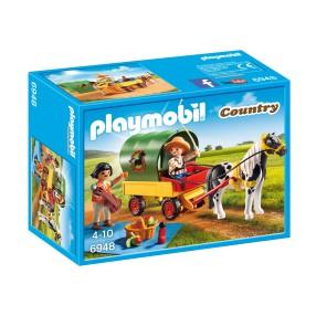 Playmobil - Wycieczka bryczką kucyków 6948