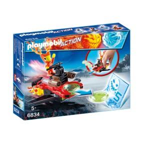 Playmobil - Sparky z wyrzutnią dysków 6834