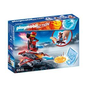 Playmobil - Firebot z wyrzutnią dysków 6835